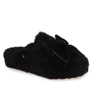 UGG Addison velvet bow slipper